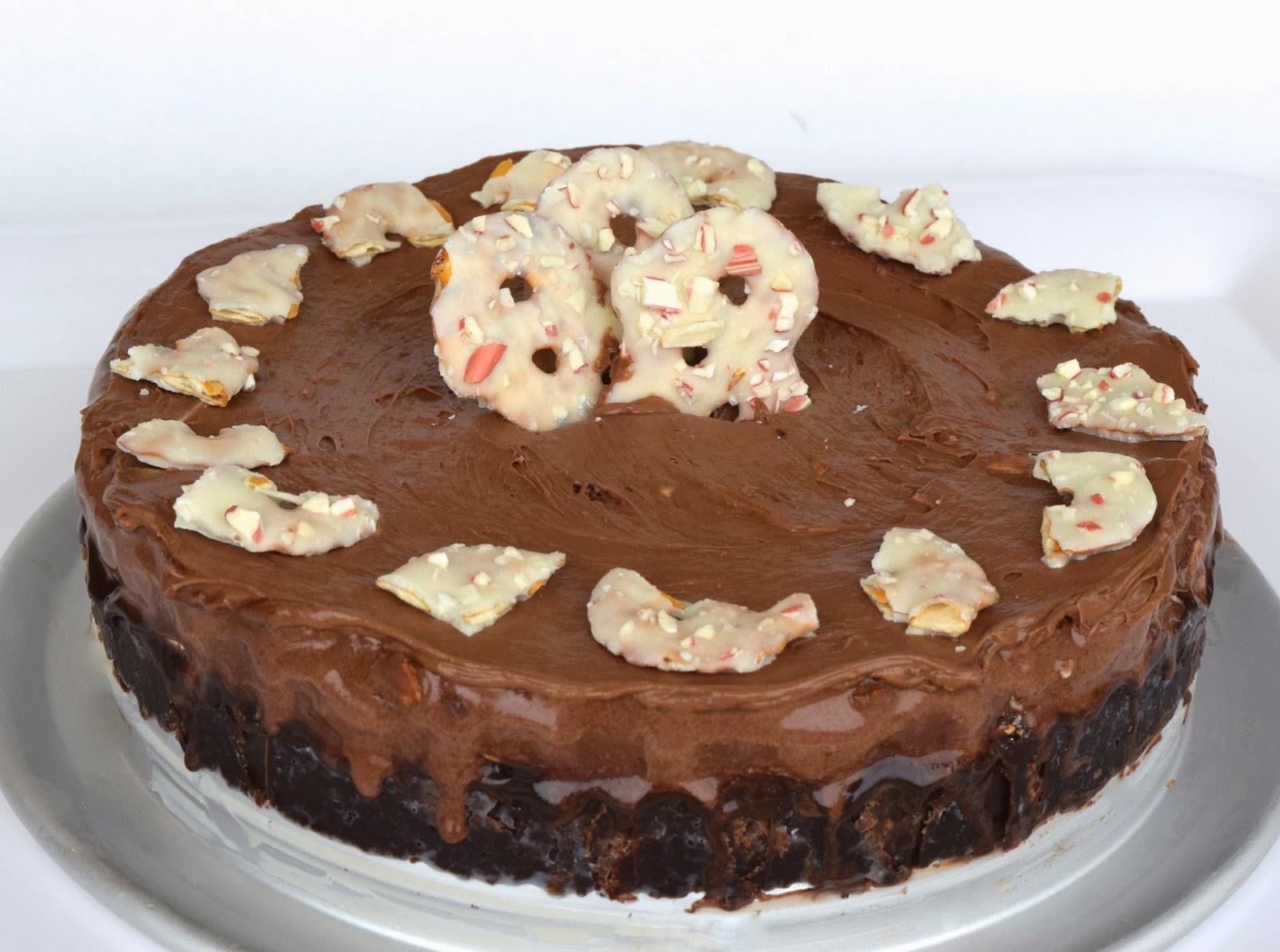 Pretzel Crisps White Chocolate & Peppermint