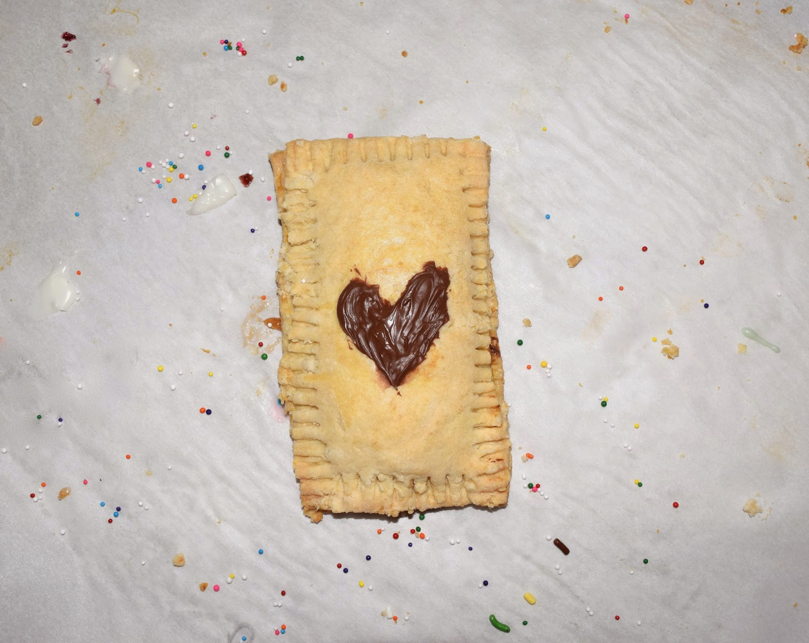 homemade nutella poptart recipe
