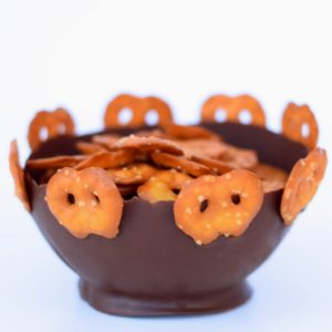 Pretzel Crisps Chocolate Balloon Bowl Recipe