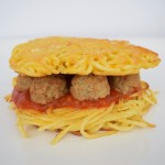 Caitlin's Creation | Spaghetti & Meatball Burger | Homemade