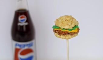 Burger Krispops