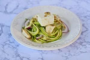 Spiral Slicer Cucumber Greek Salad Recipe