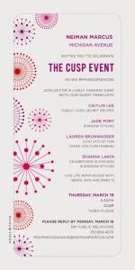 Public Lives, Secret Recipes x CUSP by Neiman Marcus Event