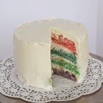 Easter Pastel Layered Cake Recipe
