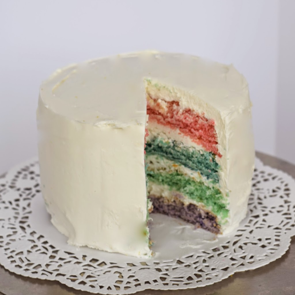 Design Your Own Layered Cake : Easter Pastel Layered Cake Recipe