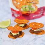 Pretzel Crisps Sriracha & Lime Burger Sliders Recipe