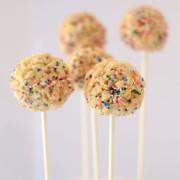 Cake Batter Krispops