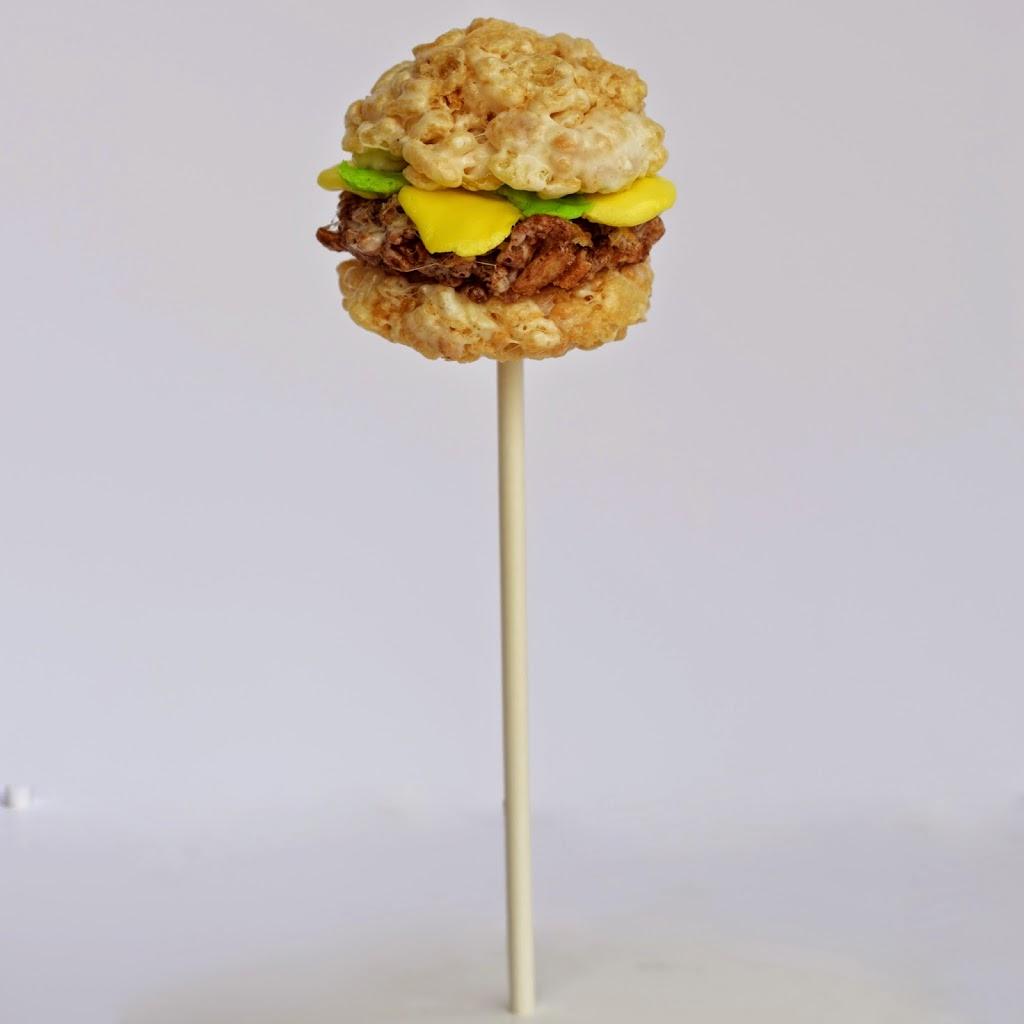 Public Lives, Secret Recipes Burger Krispops
