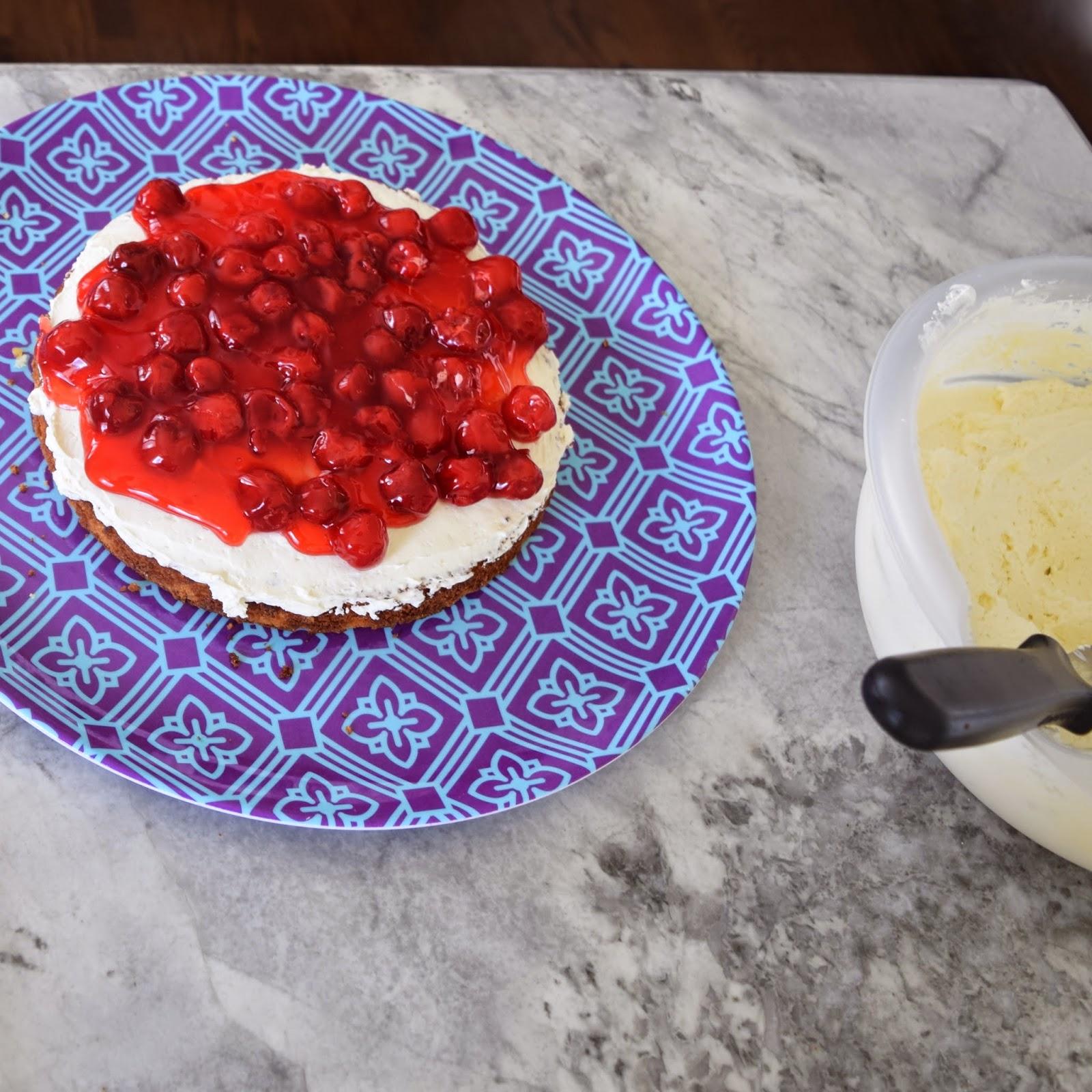 101 things i love cherry cake