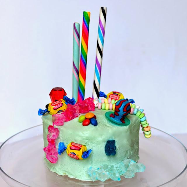 Candy Layered Cake Recipe