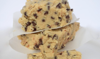 No Bake Cookie Dough Fudge Recipe