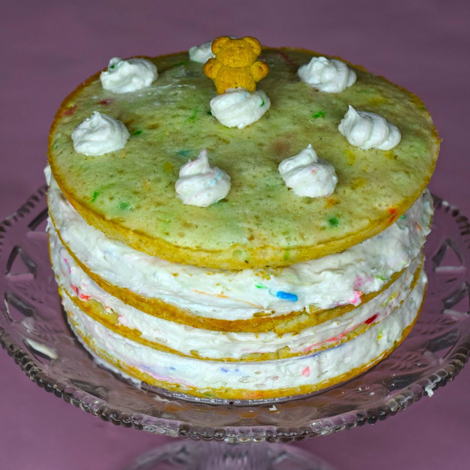 Funfetti Layered Cake Recipe