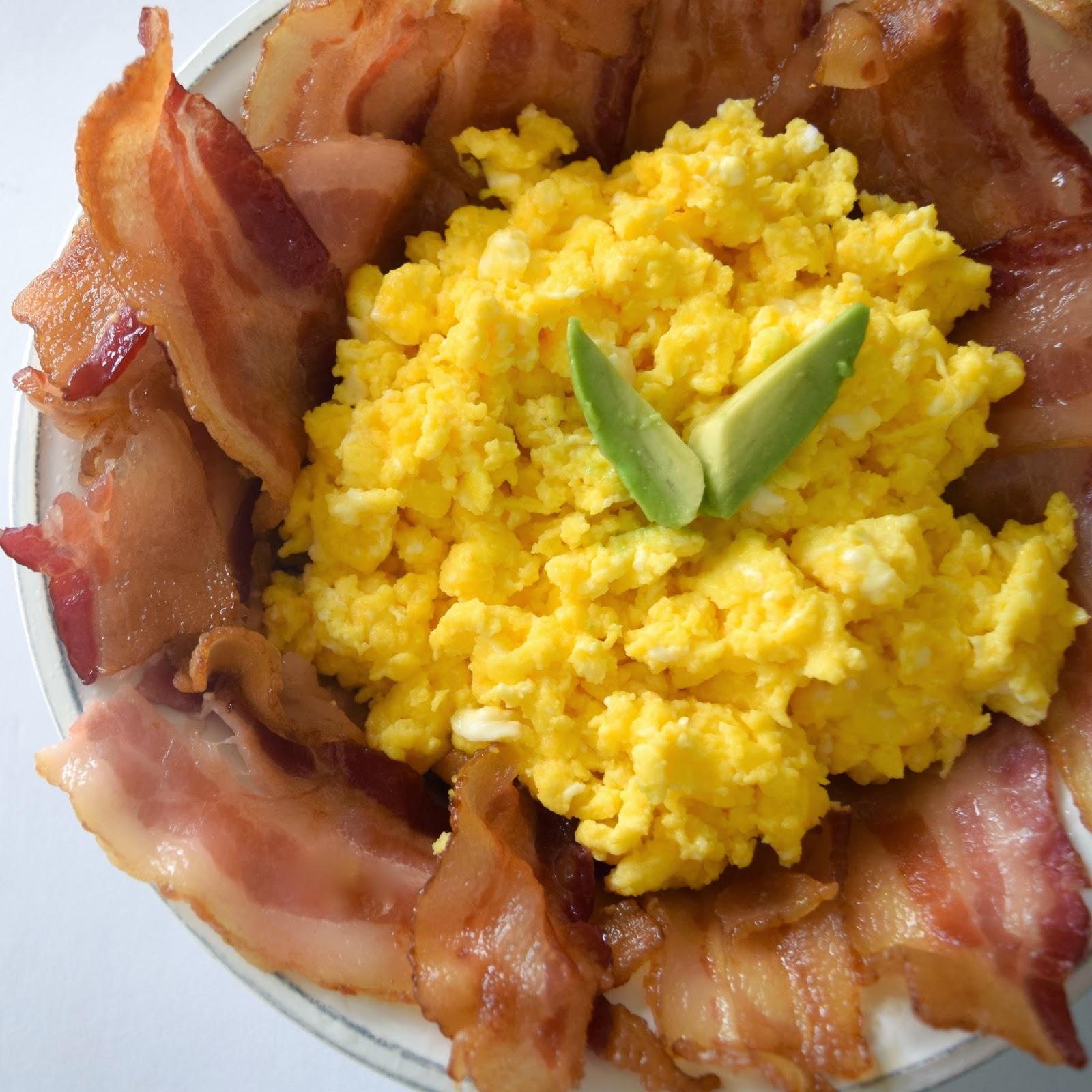 bacon pie & eggs recipe