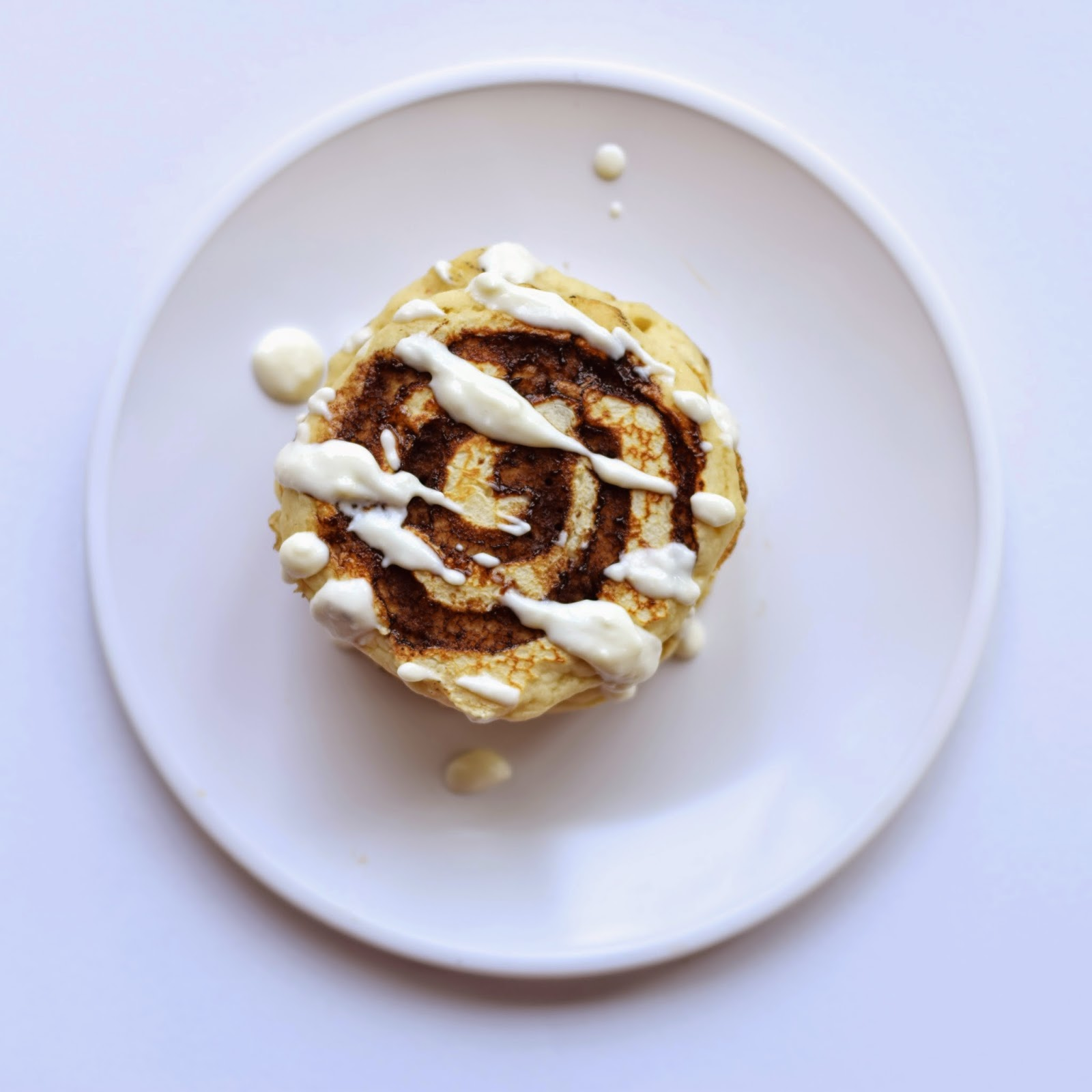 cinnamon roll pancake recipe