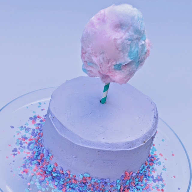 cotton candy cake recipe