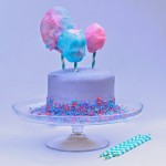 Cotton Candy Layered Cake Recipe