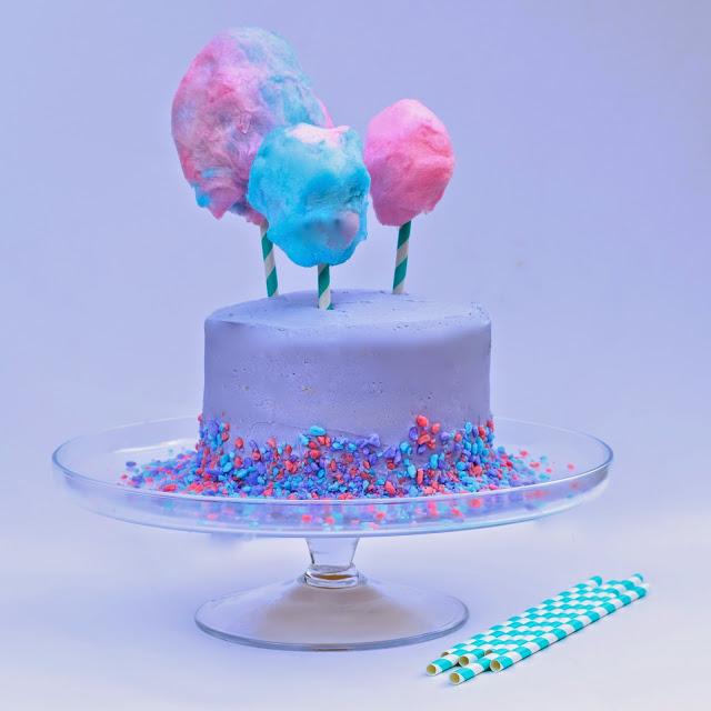 cotton candy layered cake recipe