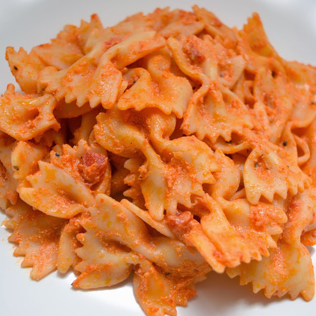 creamy spicy pasta
