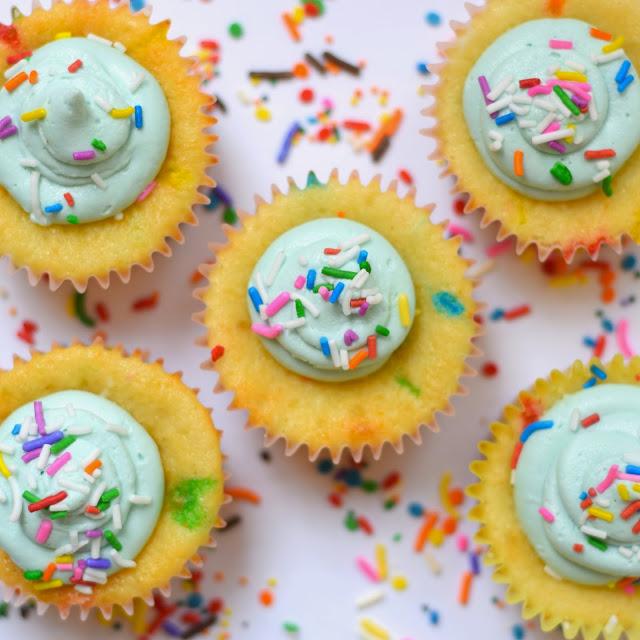 Cupcake Recipes Funfetti Cake Mix