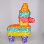 Cinco de Mayo Piñata Cake