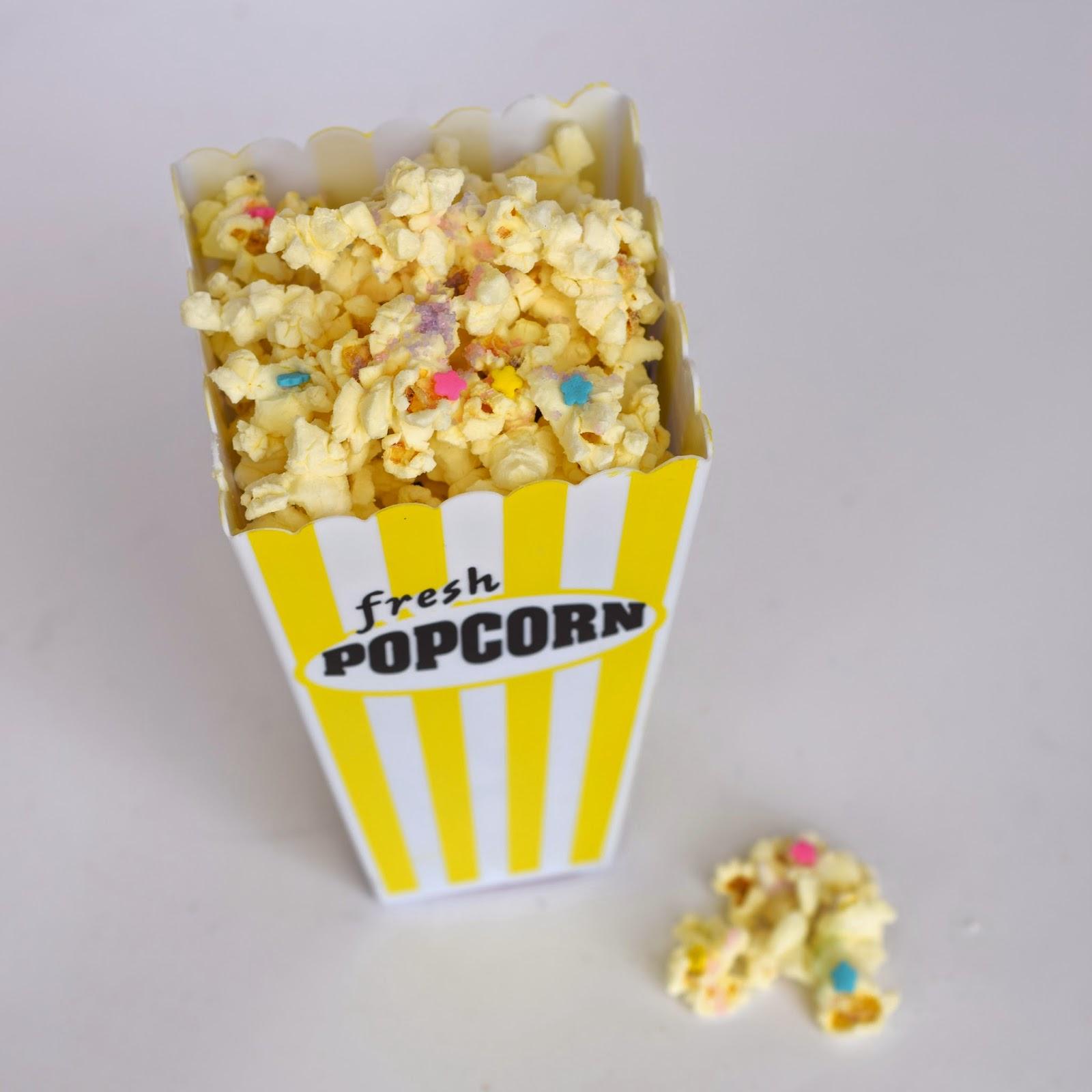 recipe cake batter popcorn