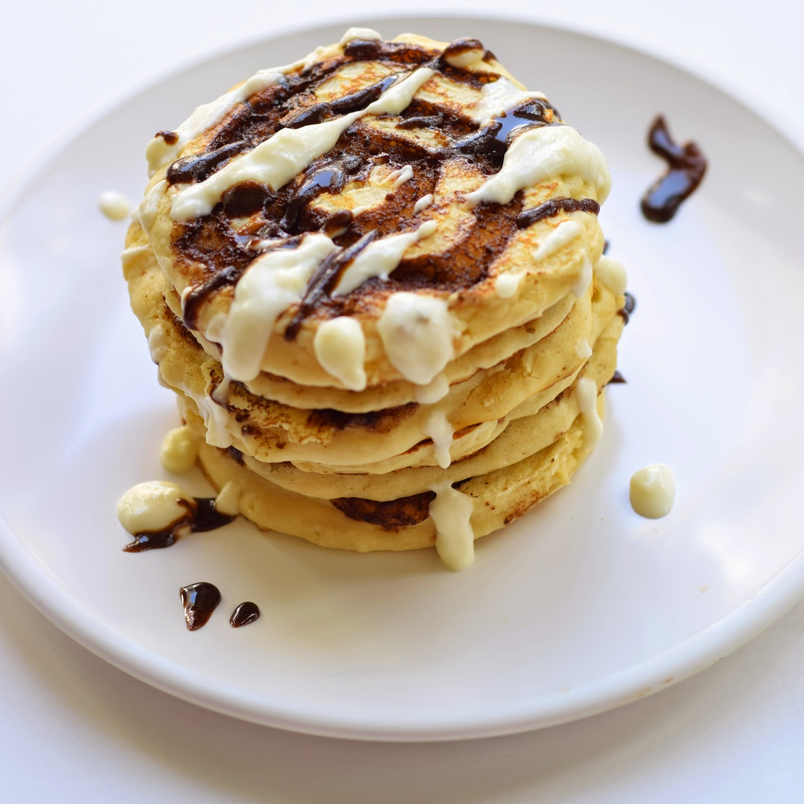 recipe cinnamon roll pancakes