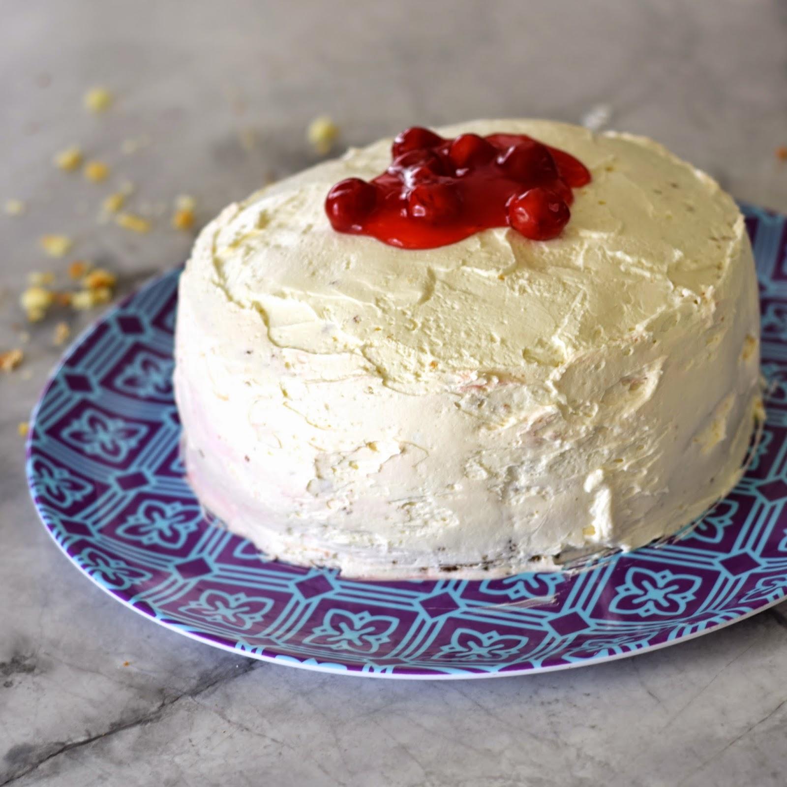 the best cherry cake recipe