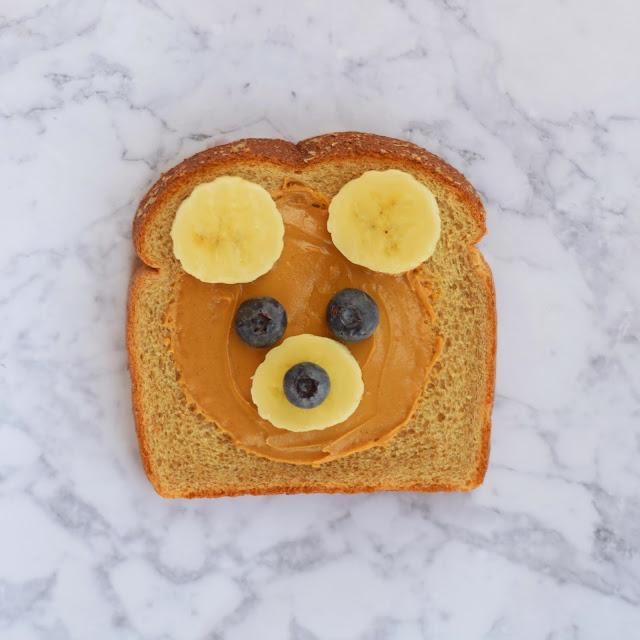 peanut butter bread bear