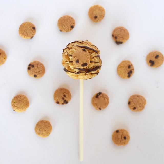 cookie dough flavored krispop