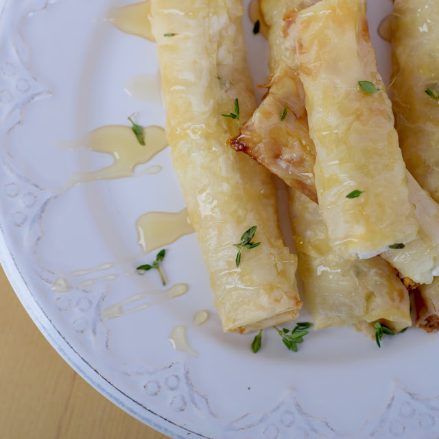 goat cheese filo pastry