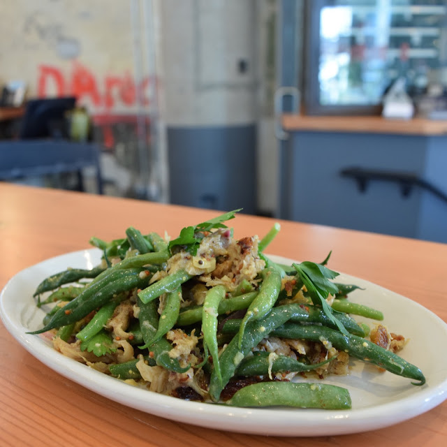 the kitchen green beans