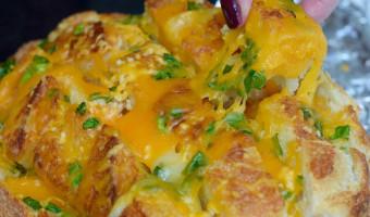Cheesy Bloomin' Onion Bread Recipe