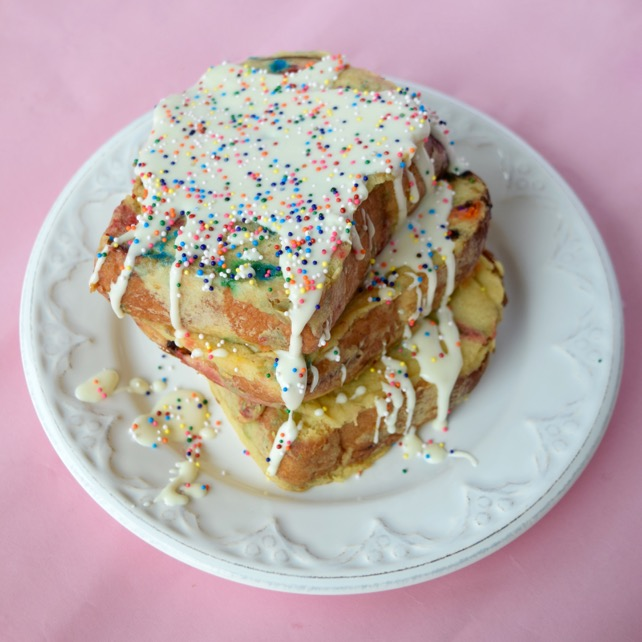 Recipe Cake Batter French Toast
