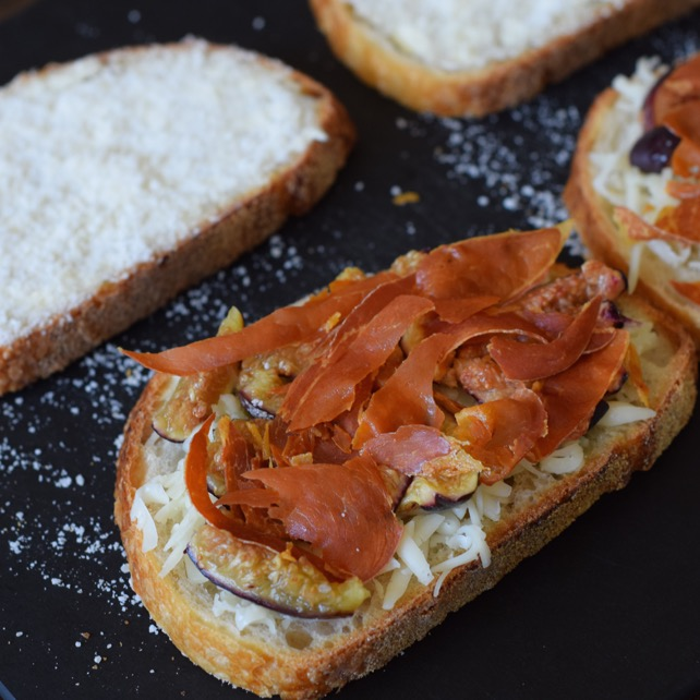 The Kittchen Prosciutto Fig Grilled Cheese Recipe