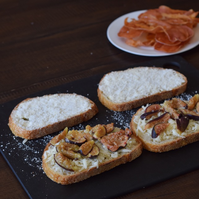 The Kittchen Prosciutto Fig Grilled Cheese