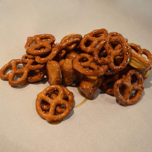 honey syrup pretzel recipe