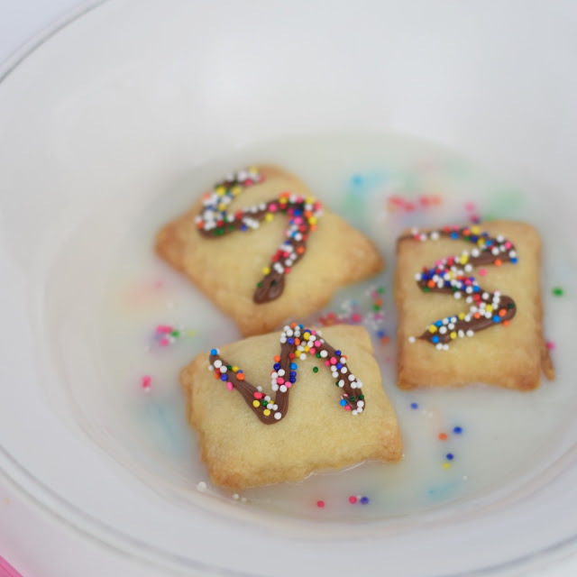 mini nutella cereal pop tart recipe