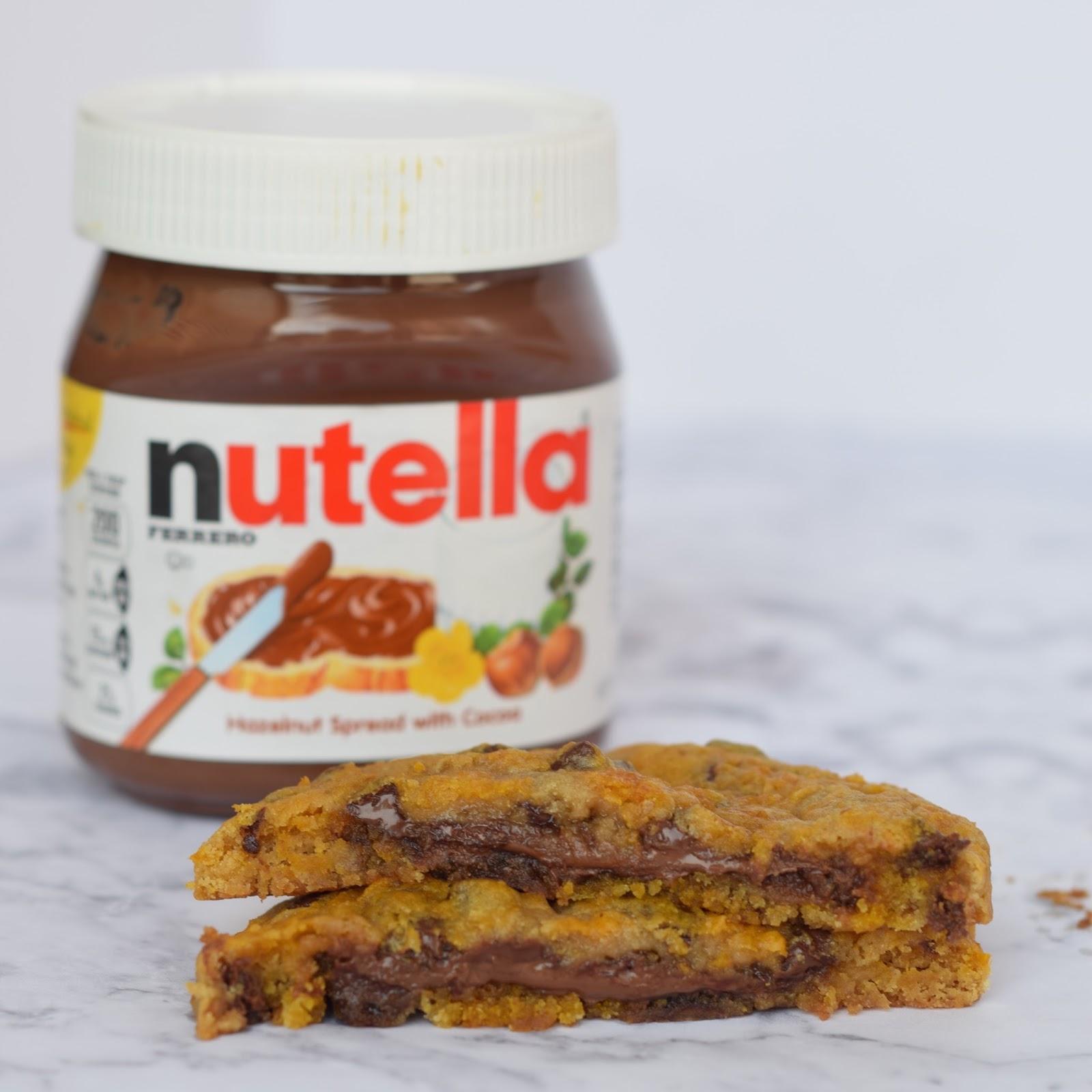Nutella Stuffed Cookie Recipe