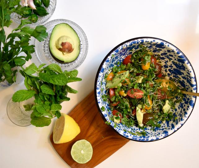 Tomato Topper Salad Recipe