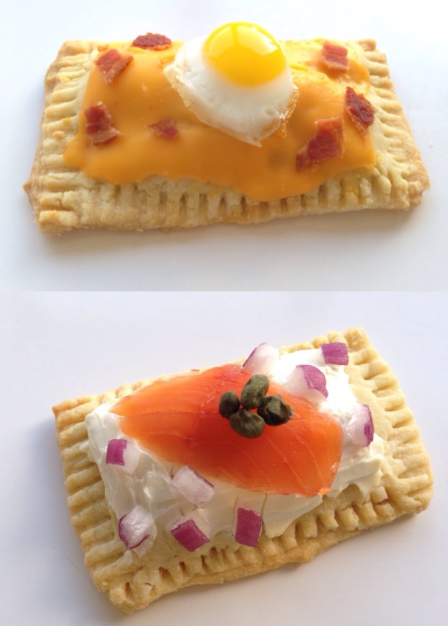 bacon, egg, cheese pop tart recipe