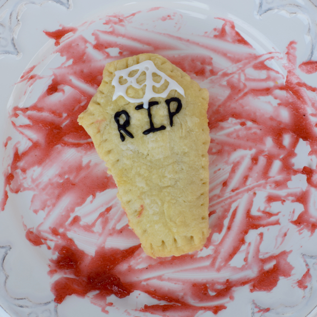 Homemade Halloween Coffin Pop-Tart Recipe