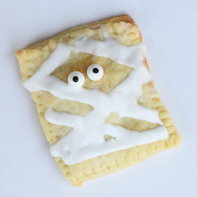 Homemade Halloween Mummy Pop Tart Recipe