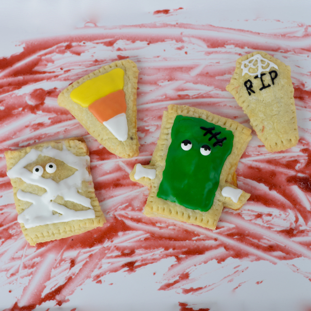 Homemade Halloween Pop-Tarts