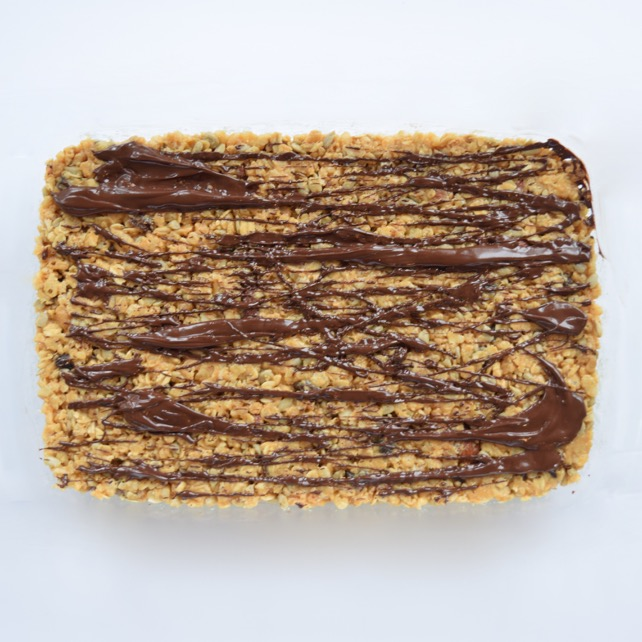 Homemade Peanut Butter Chocolate Granola Bars Recipe