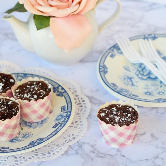 four ingredient nutella cupcakes recipe