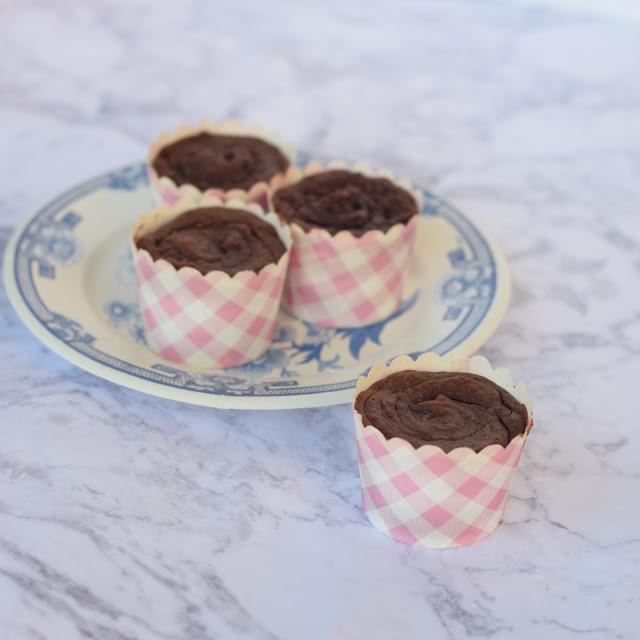 four ingredient nutella muffins