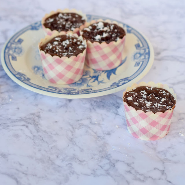 four ingredients nutella cupcakes