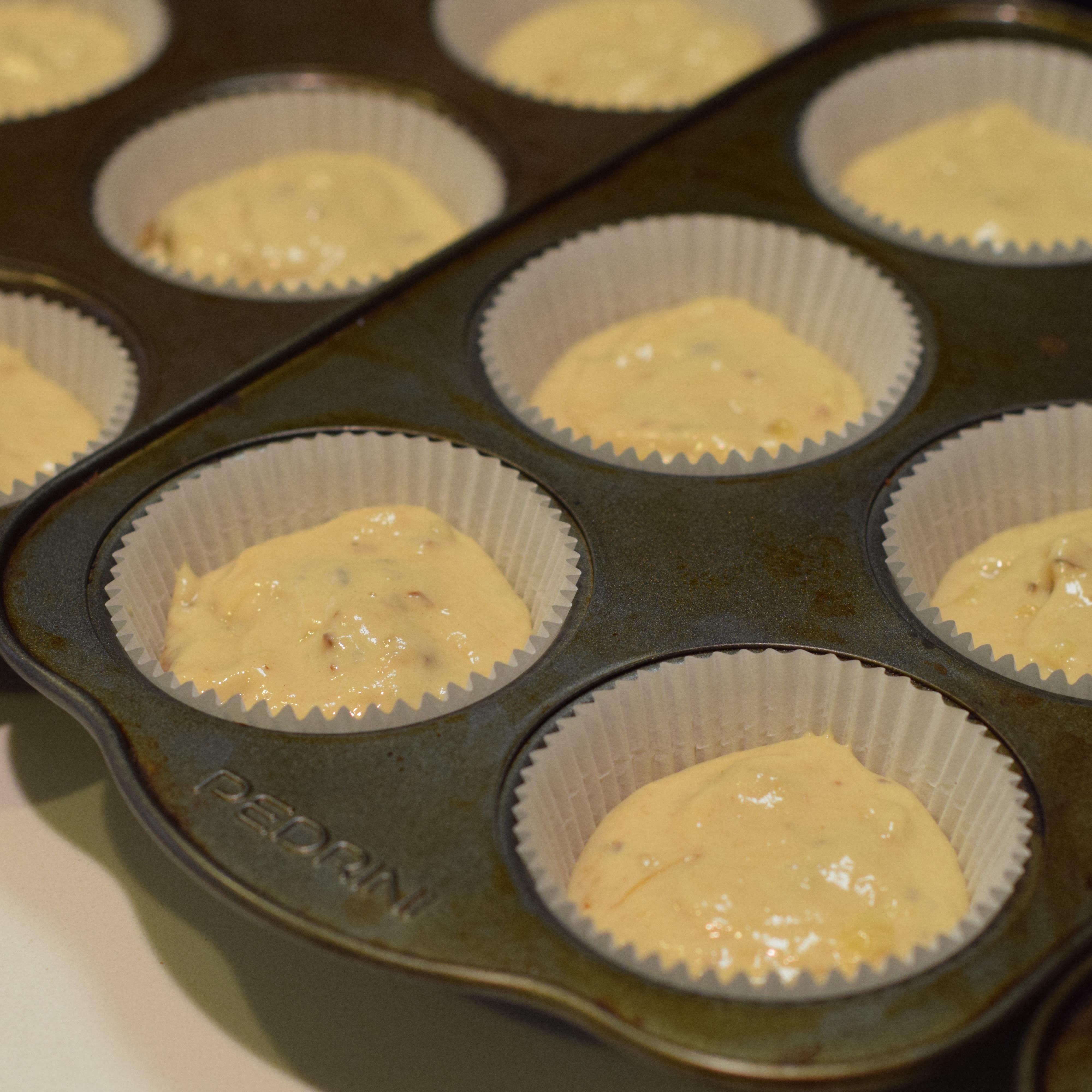 nutella banana muffin recipe