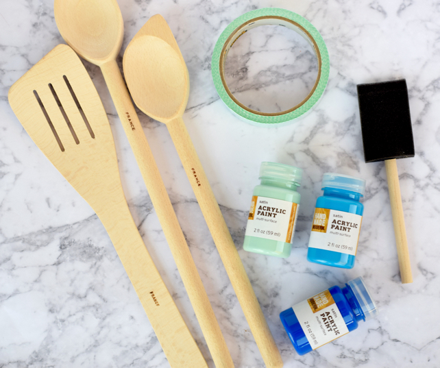 DIY Ombre Utensils