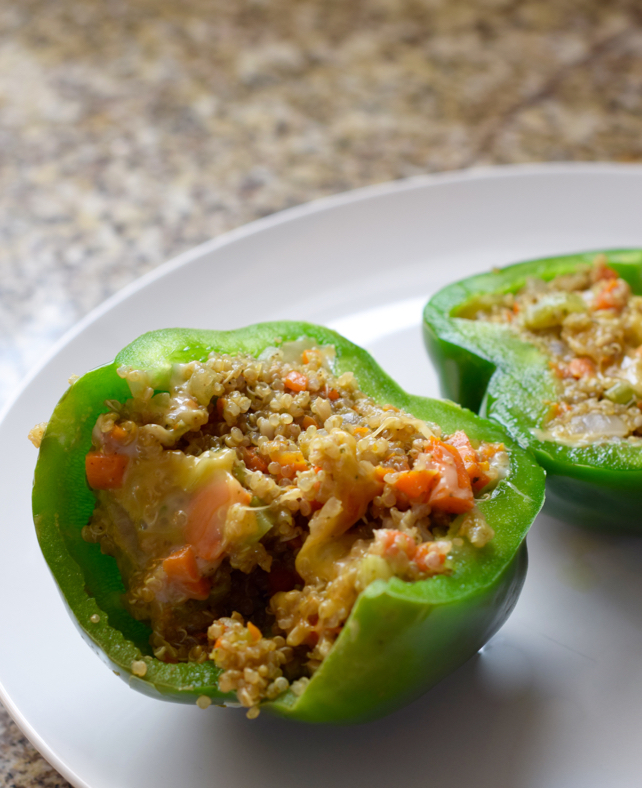 Quinoa Stuffed Pepper Recipe